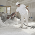 What is the cleaning of office premises after repair?
